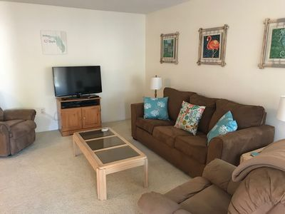 Photo for Paradise on Manasota Key with a pool and boat dock and 3 minutes from the beach.