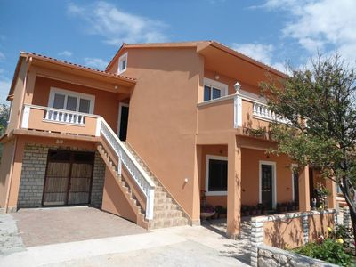 Photo for One bedroom apartment with balcony Mundanije, Rab (A-12242-a)