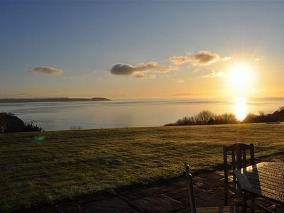 Photo for Super cottage on golf course with fantastic panoramic sea view