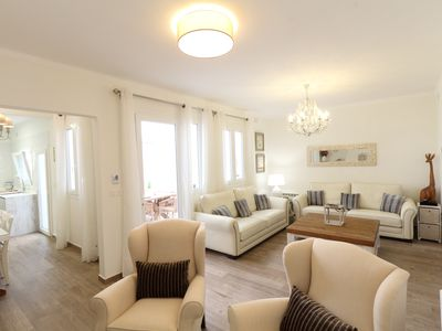 Photo for Luxury villa with private rooftop pool in the Centre of Sitges