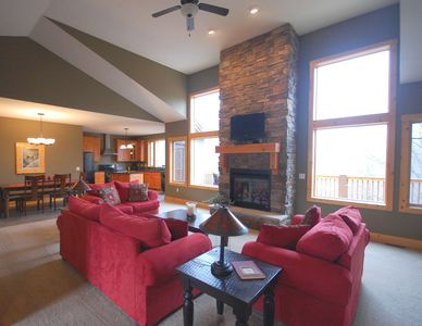 Photo for Spacious Getaway In The Reserve at Boyne Mountain! Ski, Golf, Bike and More!