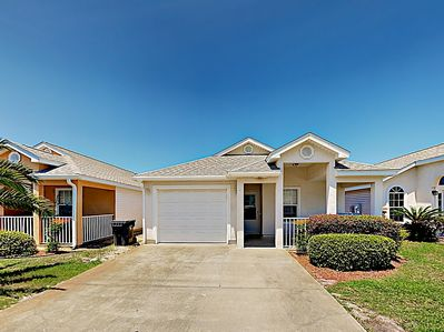 Exterior - This home is located in the gated Palm Cove community.