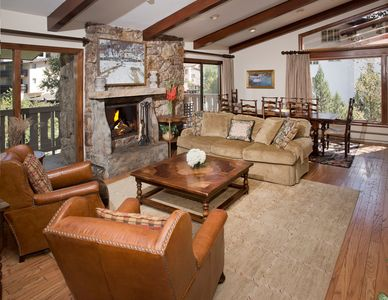 Photo for Large 3Br Residence w/ Fire Place to Discover Summer in Vail