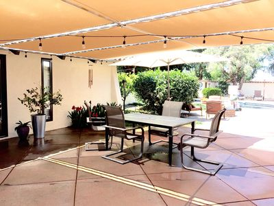 patio table for outdoor dining