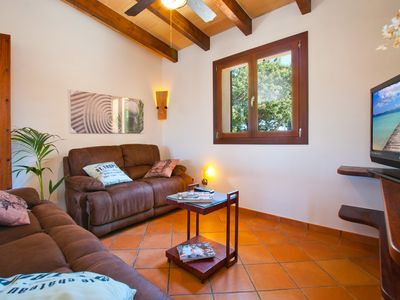Photo for VILLA SON FE FOR 6 WITH POOL, BBQ, WIFI