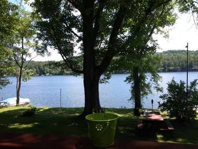 Photo for Spectacular Location on Lake Bomoseen Vermont