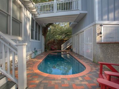 Photo for Beach Cottage with Heated Spa & Private Pool-Pet Friendly