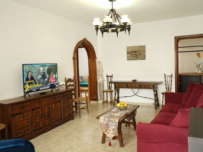 Photo for Vacacional ground floor with its garden