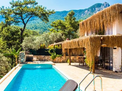 Photo for With magnificent natural surroundings of mountains and trees, this tranquil and unique villa offers