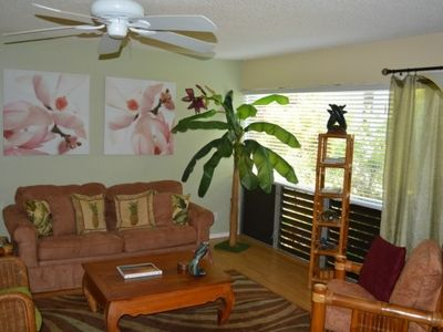 Photo for 1 bedroom condo, full kitchen, lanai, Princeville value on Kauai's North Shore