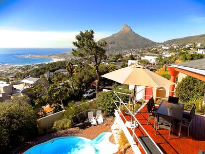 Photo for Exceptional holiday home with panoramic view in Camps Bay