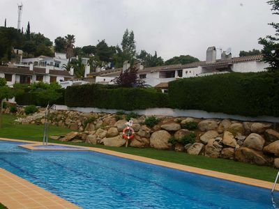 Photo for House next to pool in private beach Santa María de Llorell, Tossa de Mar