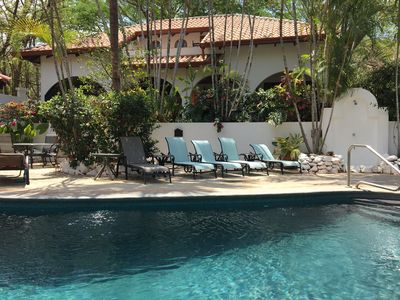 Photo for Elegant Two Story Villa, Casa Fandango, Playa Tamarindo and Play Langosta
