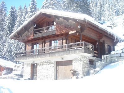 Photo for CHALET 10 PEOPLE ON THE SLOPES WITH SPA