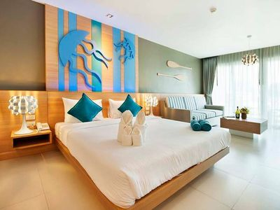 Photo for 1BR Hotel Suites Vacation Rental in Tambon Kamala, จ.ภูเก็ต