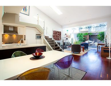 Photo for Striking open plan home in quiet inner-city area