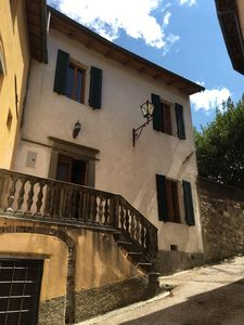 Photo for Classic Tuscan Home with Private Garden in the Old Walled City