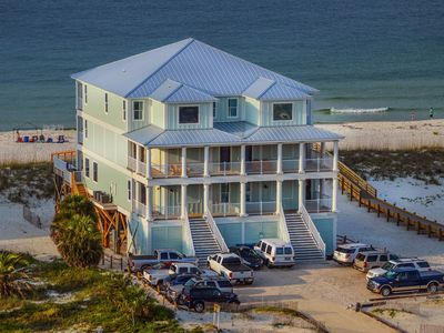 "Photo for ""Castle in the Sand East"" Orange Beach AL-9 bedroom-Sleeps up to 26-Private Pool"
