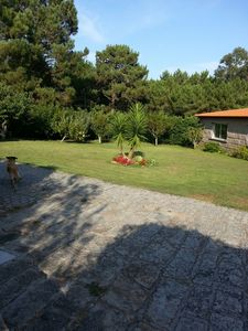 Photo for Stone house with garden and pool 10 minutes walk from the beach of Raeiros.