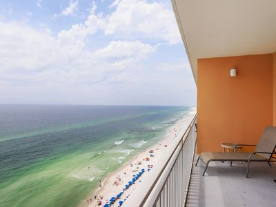 Photo for Kid-friendly beachfront condo w/ seasonal beach service & pools/hot tub!