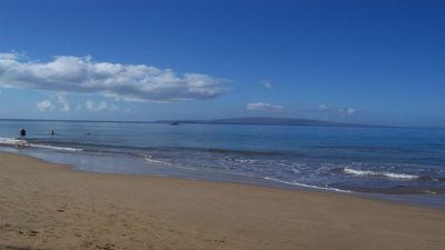Island of Kahoolawe in distance