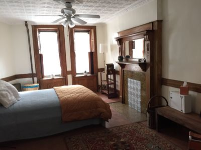 Photo for Charming 1BR Garden Apartment Harlem