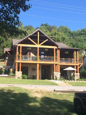 Photo for 2 of 2 Bedroom Suites Overlooking Lake Barkley In Old Kuttawa, KY with Golf Cart