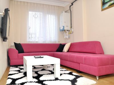 Photo for EskiSehir Daily Rent Catered Luxury Apartment 5. 1 Bedroomed Apartment Eskisehir close tho the Espark, bar street.