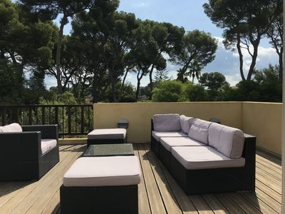 Photo for Luxury Villa in Cap d'Antibes 5 mins from the Garoupe Beach and Eden Roc