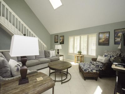 Photo for Beach Cottage, private pool, 100 steps to the beach & dog friendly!