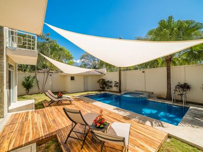 Photo for Steps to Beach! Patio, Pool, Sailing Center, Walk to Everything!