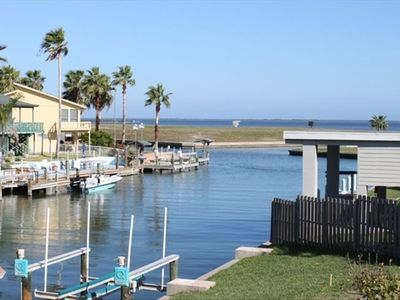 Fabulous views out to the Intracoastal Waterway and Estes Flats