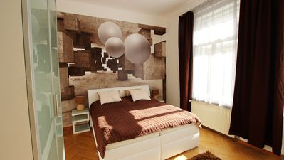 Photo for Luxury three-bedroom apartment with modern design for holiday or business trip.