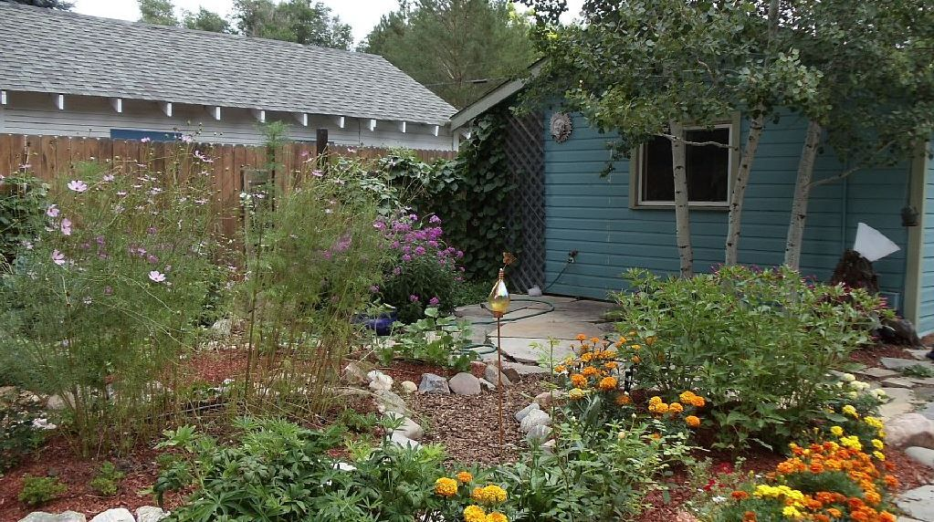 Lovely fort collins studio w beautiful garden fort for Cabin rentals near fort collins colorado