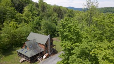 Starry Hill sits in the middle of 24.5 acres in a sugar maple-mixed forest.