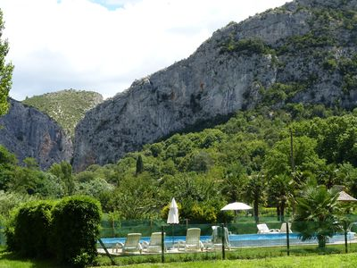 Photo for Gites with swimming pool in a large farmhouse in Anduze in the Cévennes