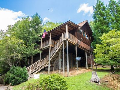 Photo for Marietta's Dream - Dog Friendly w/fee - Foosball, Hot Tub, WiFi, 2 King Suites, Close to Attractions