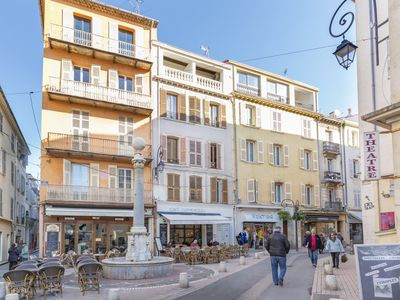 Photo for Fully equiped studio in the Vieil Antibes