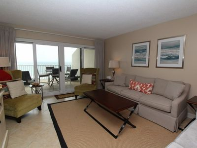 Photo for Sandy Key 825-Beach Front Views from Terrace with Luxurious Interior!