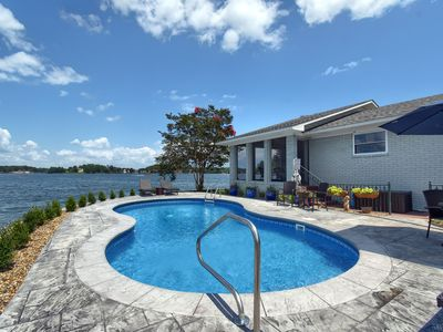 Photo for NEW! Peninsula Lake Home with POOL