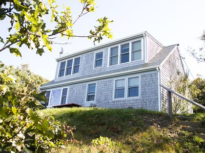 Photo for Picturesque Private Beachfront House on Cape Cod Bay