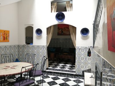 Photo for Rent a Riad with swimming pool at the gates of the medina of Marrakech