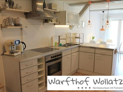 Photo for Lovingly furnished apartment **** on Biolandhof near the North Sea