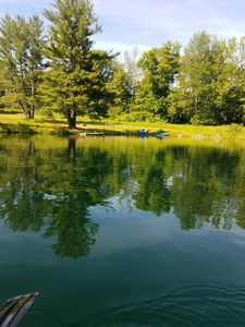 Photo for PRIVATE WATERFRONT MOUNTAIN HOME ON 6 ACRES. SWIM.FISH.KAYAK.RELAX!