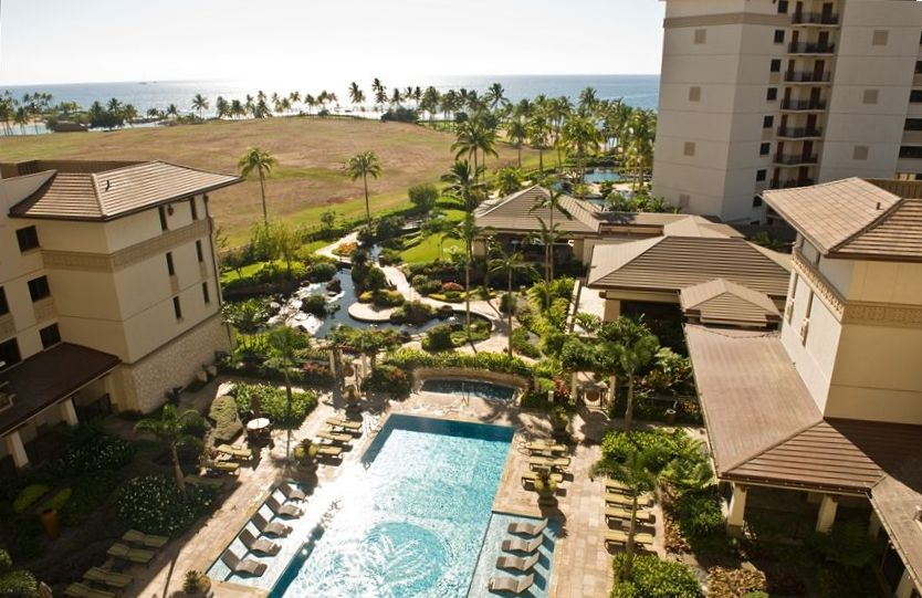 World Cl Oceanfront Ko Olina Beach Villa Resort View From 7th Floor Lanai
