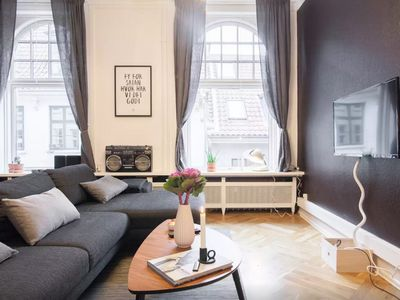 Photo for Bright home with plenty living space in CPH center