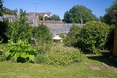 Rear of cottage from the garden