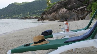 Photo for Beachfront Villa on best beach+3 staff +garden+wifi+security+privacy+tranquility