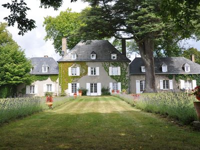 Photo for Demeure du Bost, magnificent mansion in the countryside with swimming pool