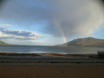 Photo for On The Beach. Next To The Balmoral Hotel. Stunning Views Of Carlingford Bay